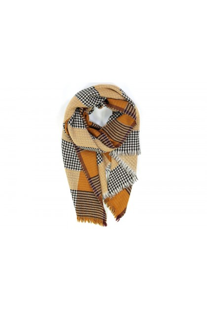 Scarf Canopee roux