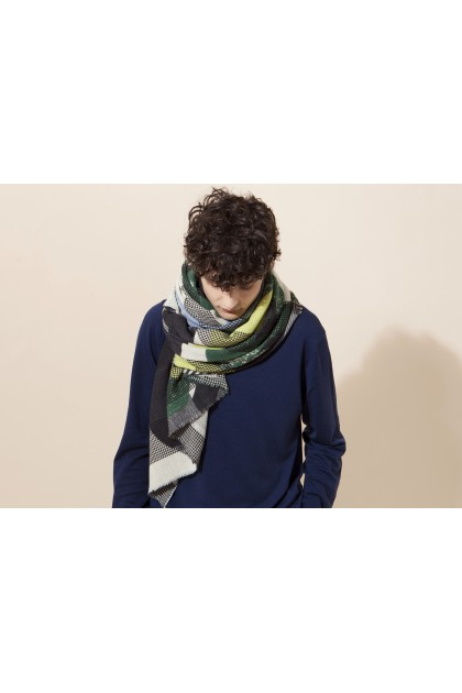 Scarf Organique lime