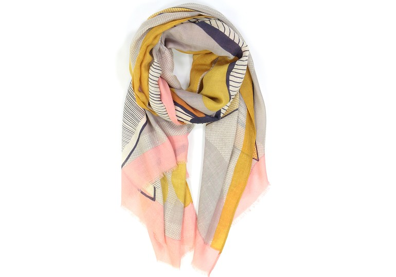 Foulard Nature morte quartz