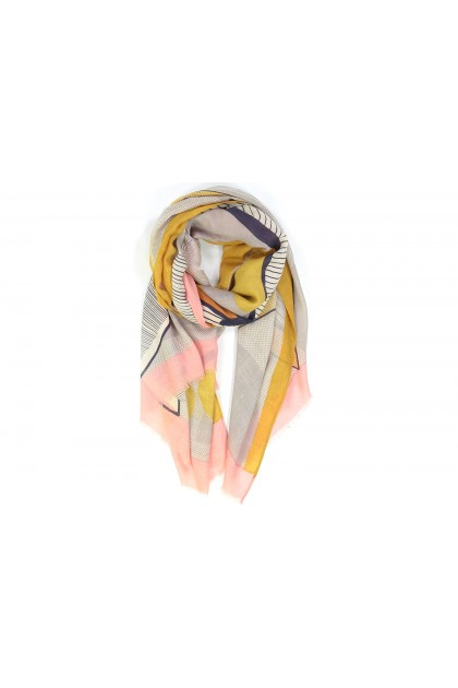Scarf Nature morte quartz
