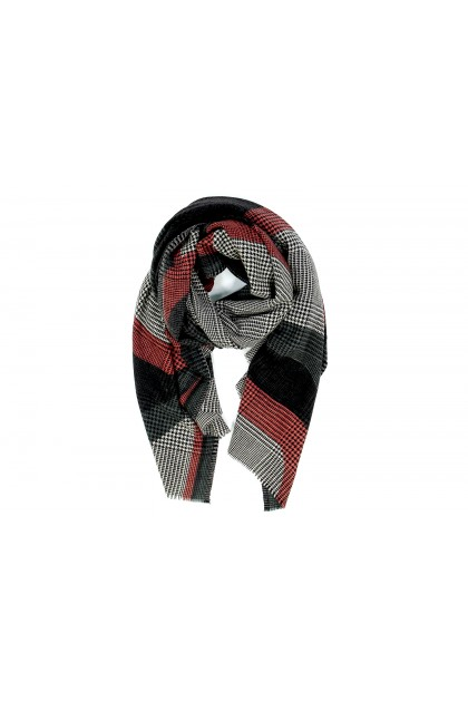 Scarf Reflet rouge
