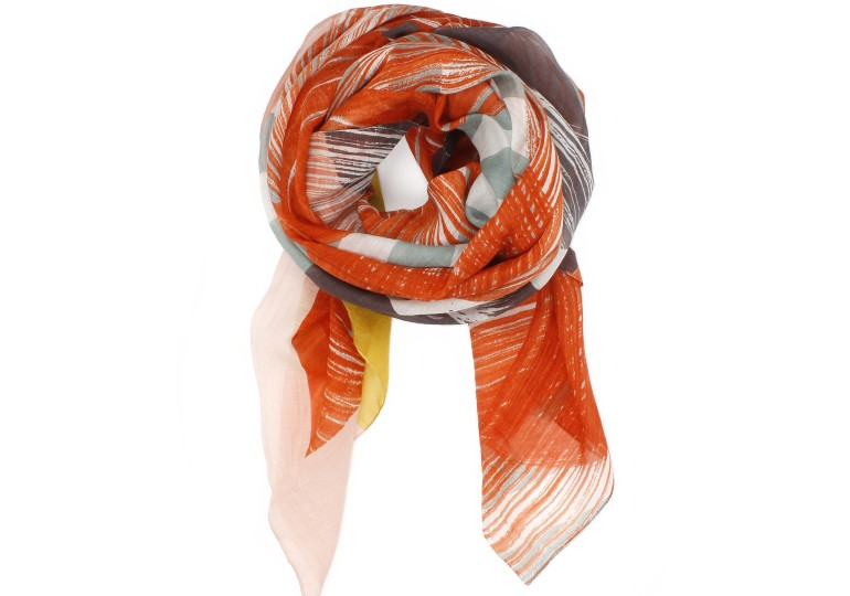 FOULARD SERPENTINE PASSION