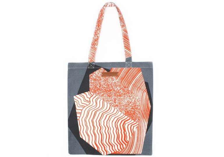 TOTE BAG MINERAL ORANGE
