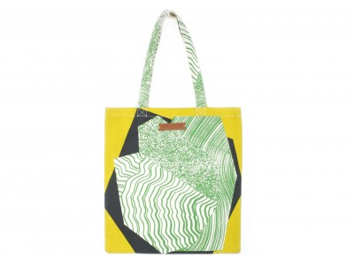 TOTE BAG MINERAL MENTHE