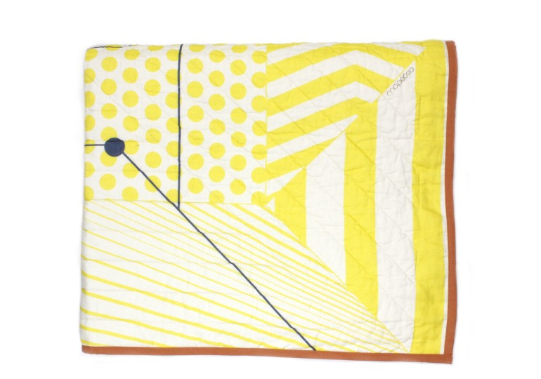 BED COVER MUSE CITRINE