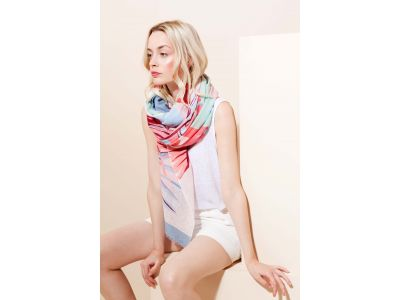 TROPICAL CORAIL SCARF