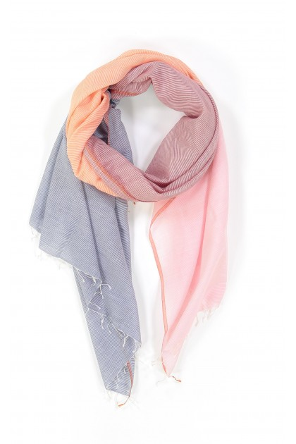 FOULARD HORIZON ORANGE