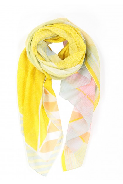 FOULARD PERSPECTIVE PASSION