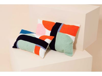 DELICE INDIGO CUSHION COVER