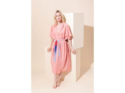 SCALA PLAIN BLUSH DRESS