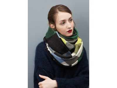 FOULARD ORGANIQUE LIME
