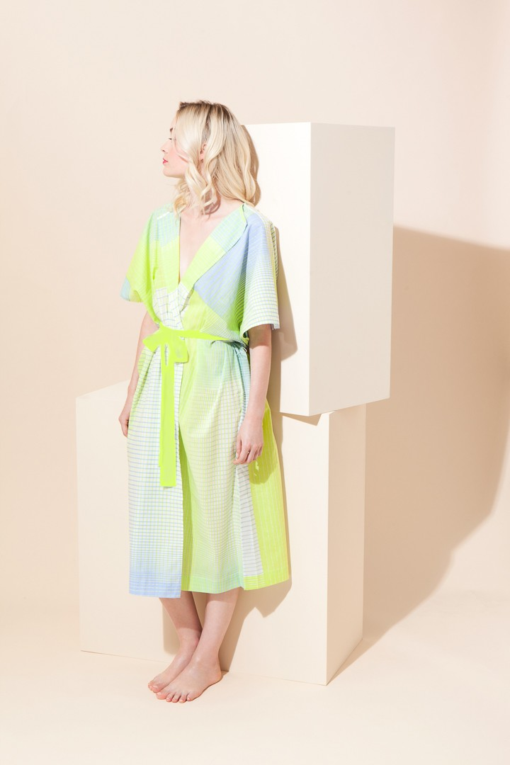 SCALA LIME DRESS