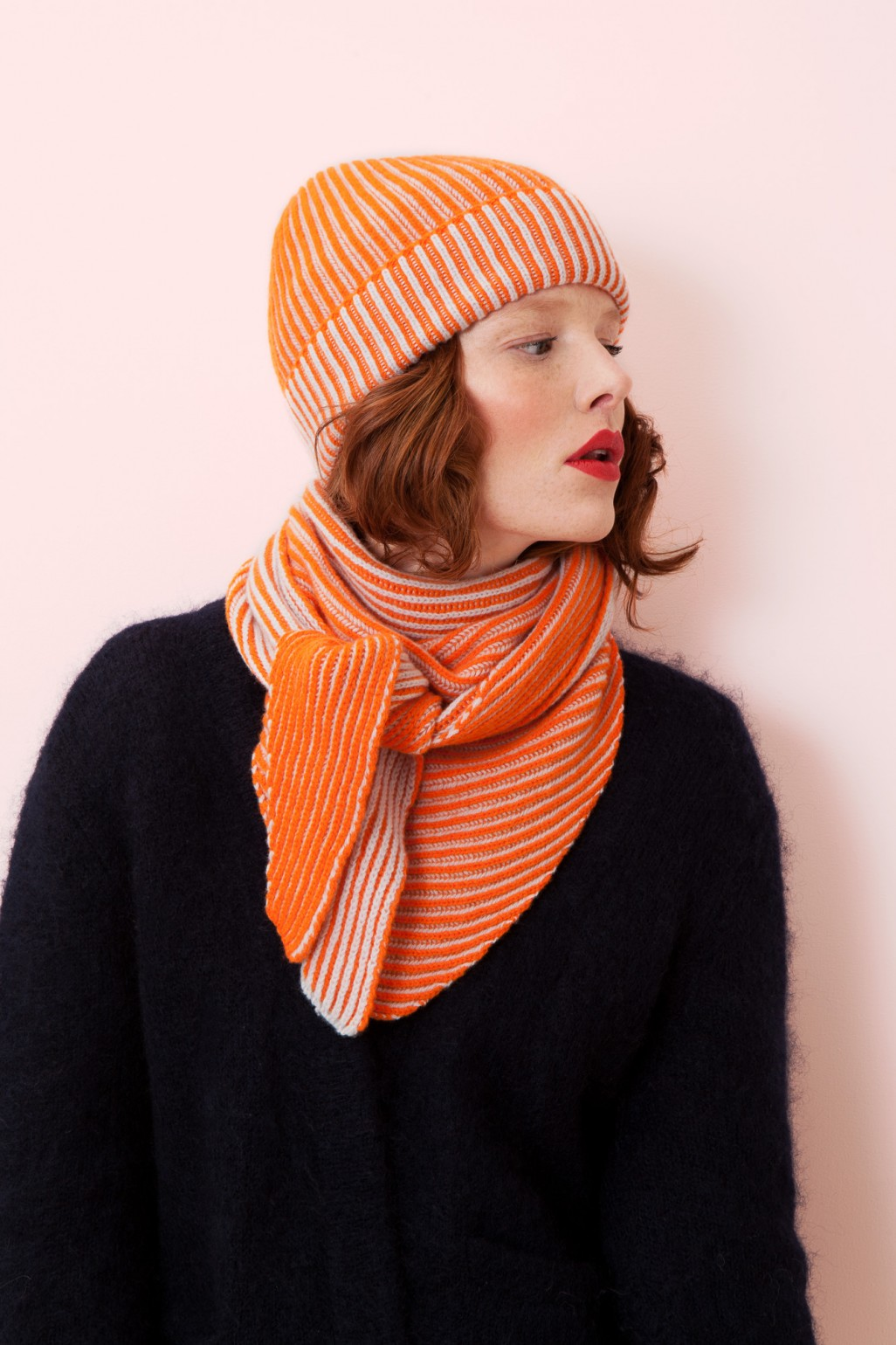 BONNET ALFRED MAPOESIE ORANGE