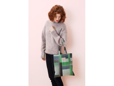 YVONNE GREEN TOTE BAG