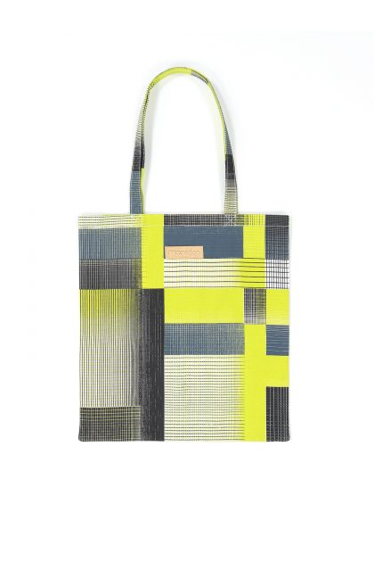 YVONNE LIME TOTE BAG