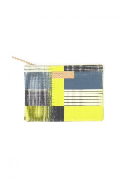 YVONNE LIME POUCH