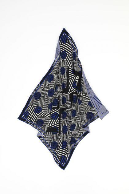 SAQUI BLUE SCARF