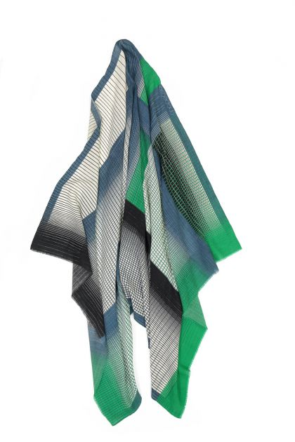 YVONNE GREEN SCARF