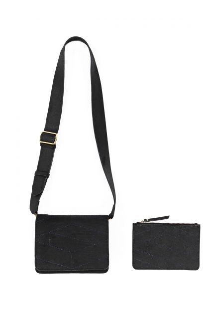 ICONE BLACK SMALL POUCH