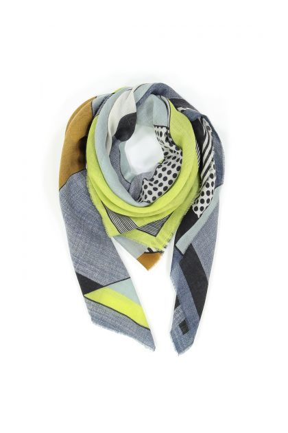 BABETTE LIME SCARF