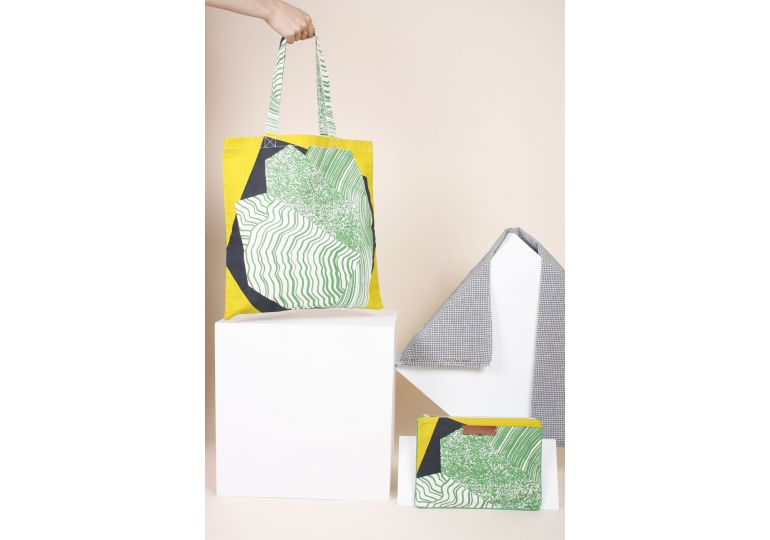 MINERAL MENTHE TOTE BAG