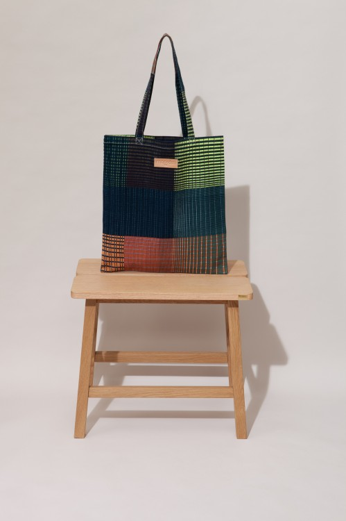 Tote bag GRADIENT Nuit Lime