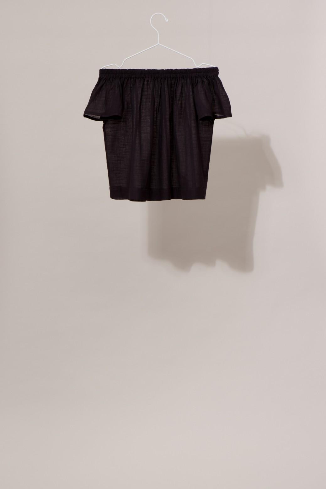 Top Off Shoulder BALI Uni Noir