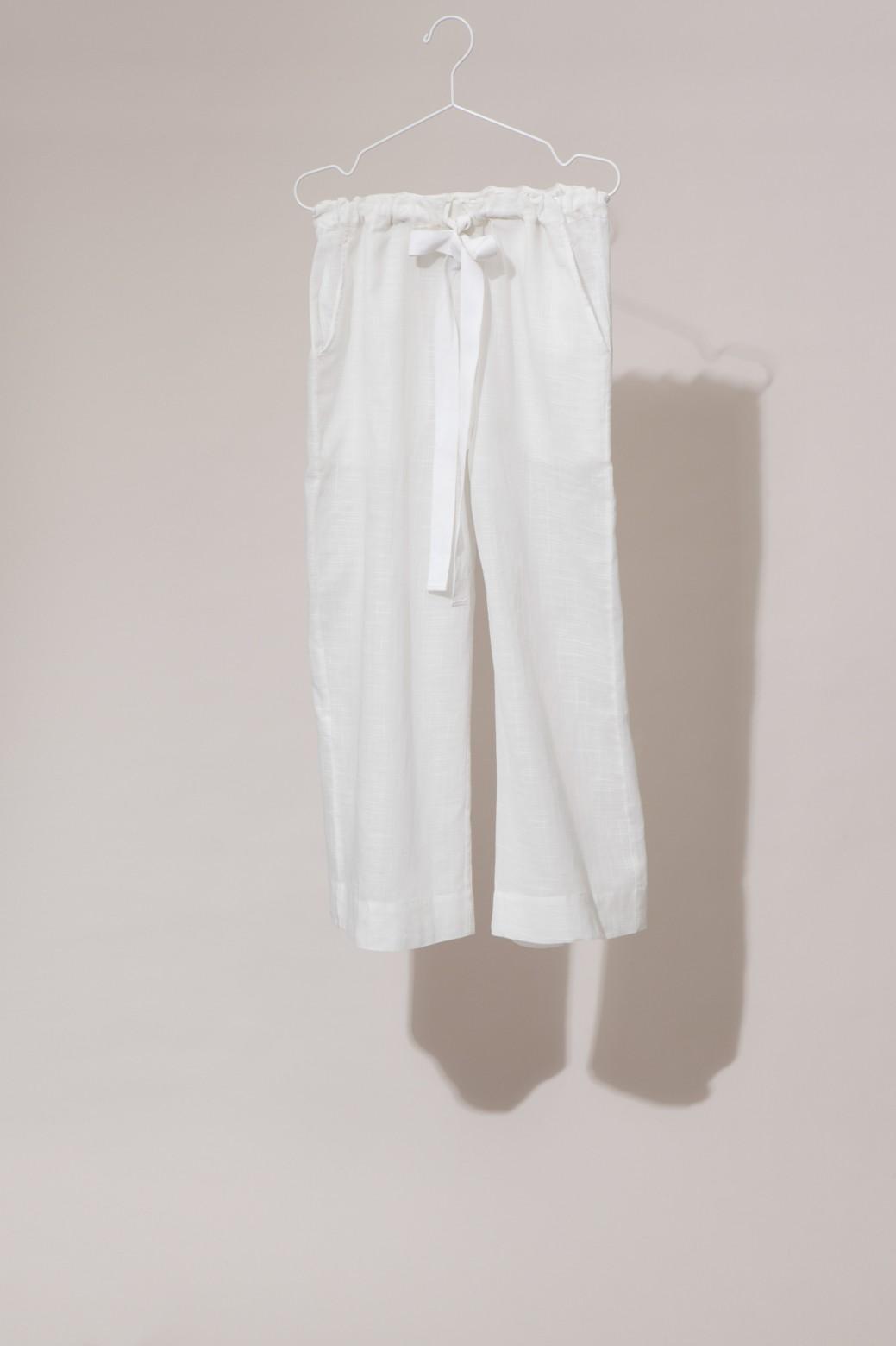 Pantalons COMORE Uni White
