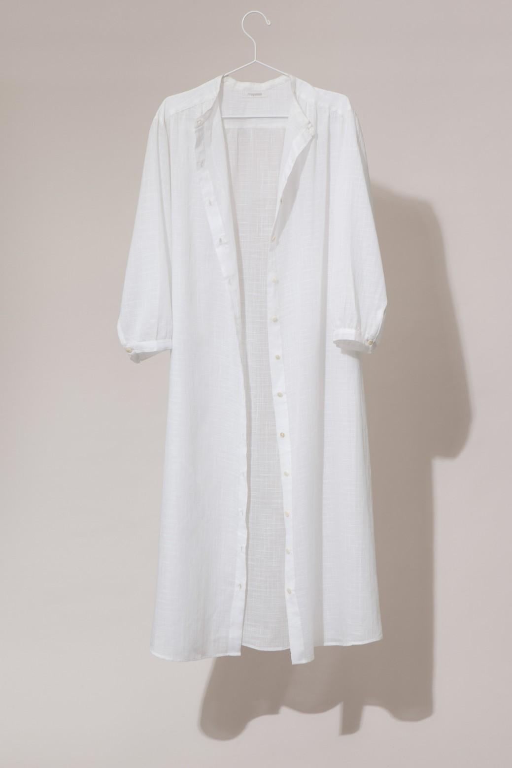 Robe EULALIE MAPOESIE Uni White