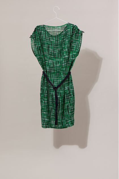 DADA RETRO GREEN DRESS