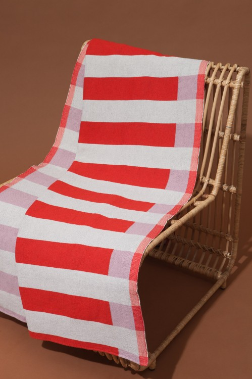 Fouta PARURERouge