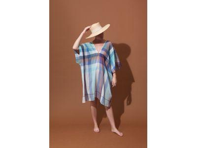 CHROMA BLUE DRESS
