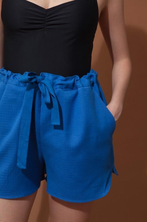 Short MAURICE MAPOESIE Uni Bleu
