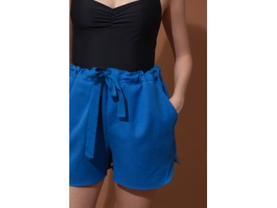 MAURICE BLUE SHORTS