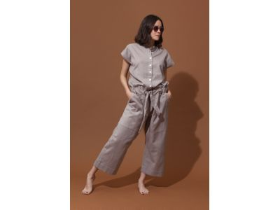 BARBIZON GREY OVERALLS