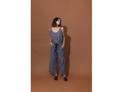 COMORE NAVY TROUSERS