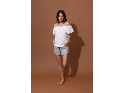 BALI WHITE OFF SHOULDER TOP