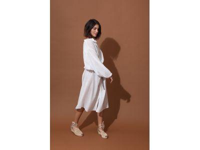 EULALIE WHITE DRESS