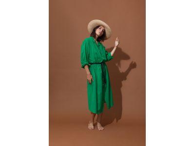 EULALIE GREEN DRESS