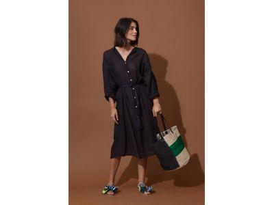EULALIE BLACK DRESS