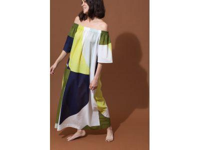 PALAO VISION KHAKI DRESS