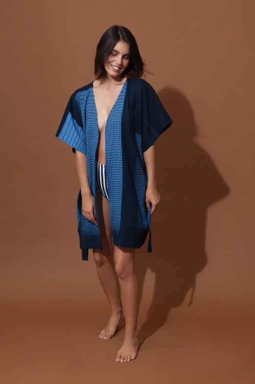 Kimono PROSE Bleu
