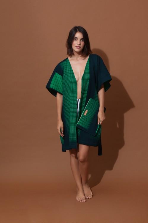 Kimono PROSE MAPOESIE Vert fluo