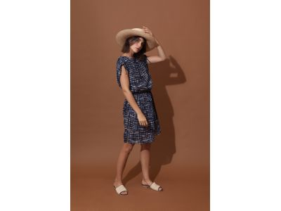 DADA RETRO NAVY DRESS
