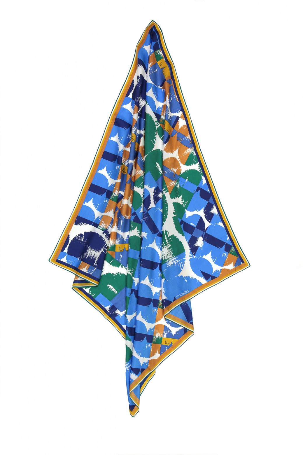 Foulard IDYLLE Bleu