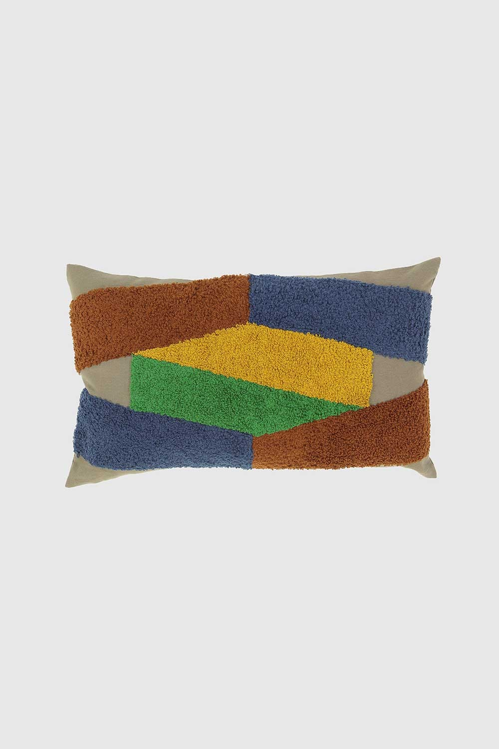 ODILE KHAKI CUSHION COVER