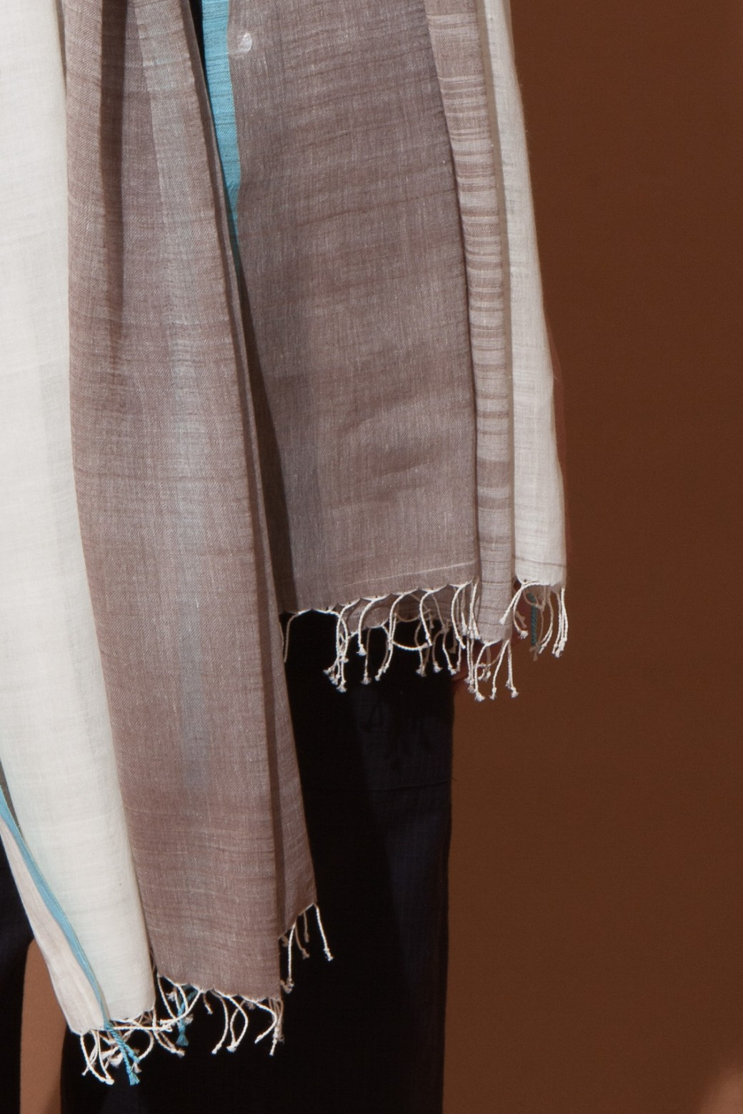 OMBRE BROWN SCARF