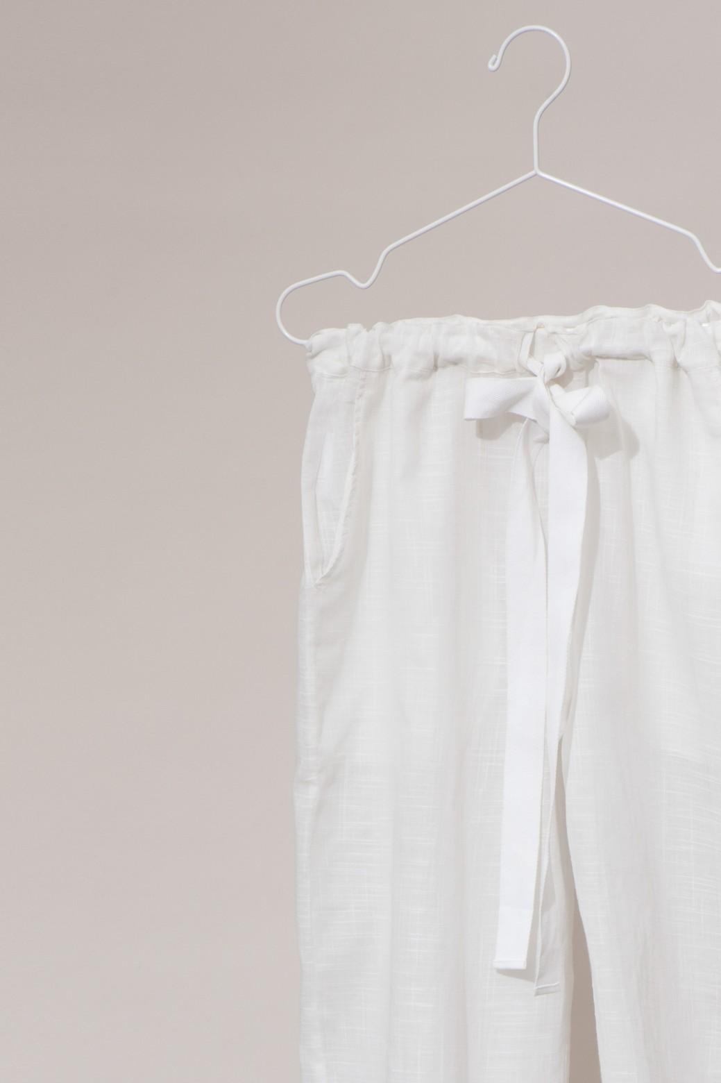 Pantalons COMORE MAPOESIE Uni White
