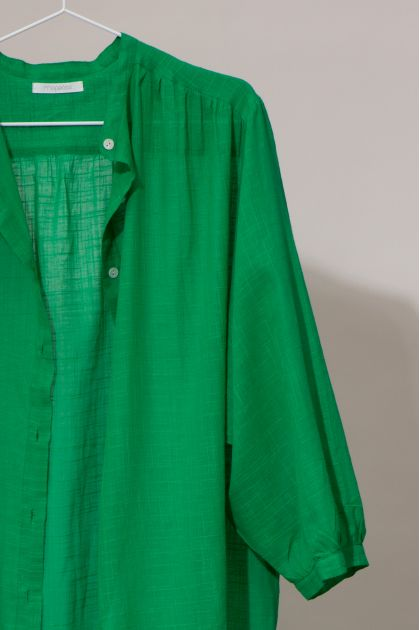 Robe EULALIE Uni Vert