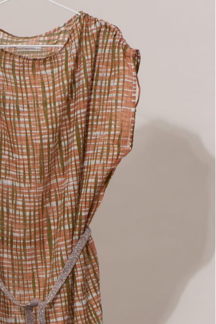 DADA RETRO BLUSH DRESS